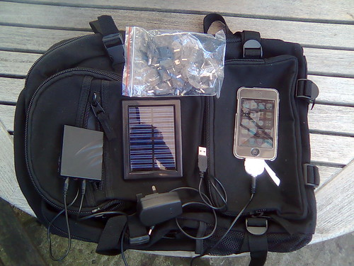 Black Hills Outdoor Solar Backpack