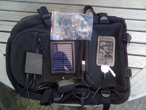 Black Hills Outdoor Solar Backpack
