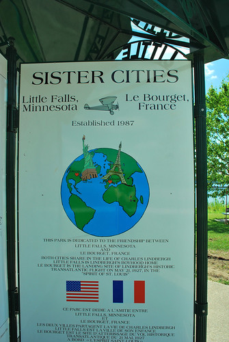 sister cities sign