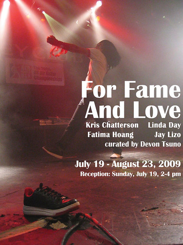 For Fame And Love Promo Image