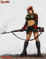 Natasha Concept Art