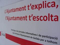 """""""L'Ajuntament t'explica, l'Ajuntament t'escolta"""""""