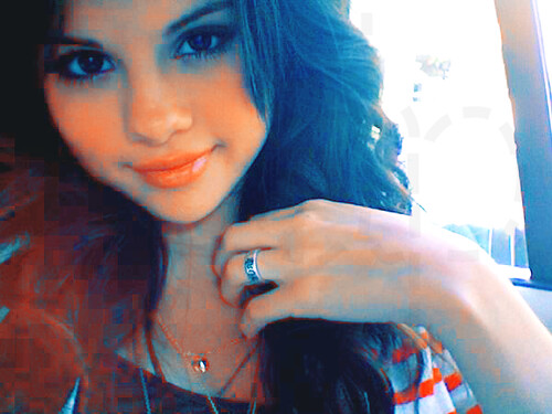 "Selena Gomez's purity ring. ""true love waits"" true dat. haha comment if youh"