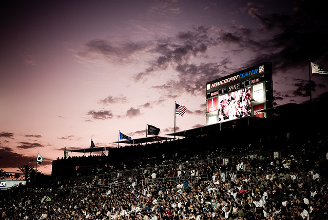 AC MILAN vs. LA Galaxy Game by jacksonkuo