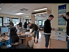 Semestertider (mescon) Tags: vacation photoshop göteborg office nikon sweden gothenburg clones multiple sverige nikkor clone kontor semester d300 klon 1685 kloner 1685mm