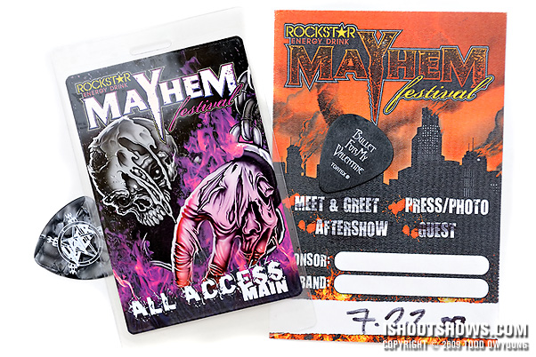 Mayhem Fest 2009 Mayhem Fest All Access