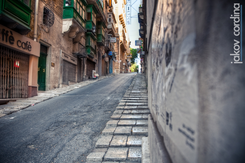 A typical Valletta Street HDR