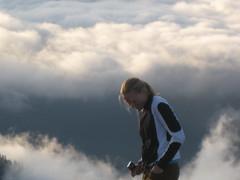 Susan in Clouds