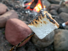 Summer marshmallows. Lutsen Resort, Lake Superior