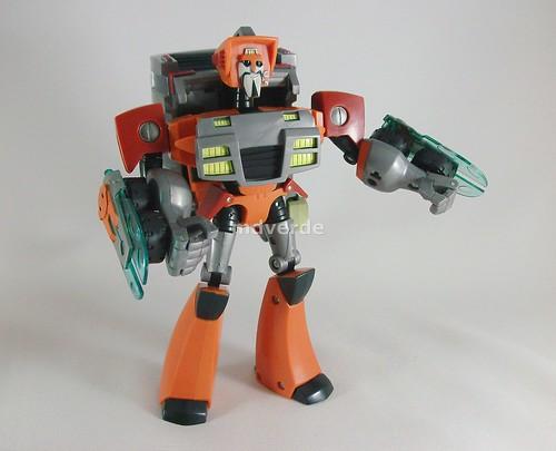Transformers Wreck-Gar Animated Voyager - modo robot