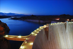 Glen Canyon Dam (leuntje) Tags: arizona dam explore page coloradoriver lakepowell glencanyon glencanyondam