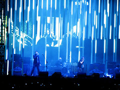 IMG_3272 (laconics) Tags: show blue brazil music brasil concert saopaulo stage sp radiohead palco krafwerk justafest chacaradojockey