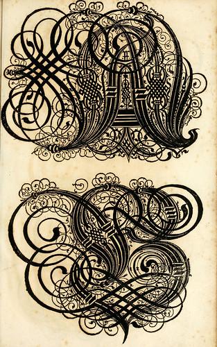 007--Kunstrichtige Schreibart  allerhand Versalie..Paul Frank 1655