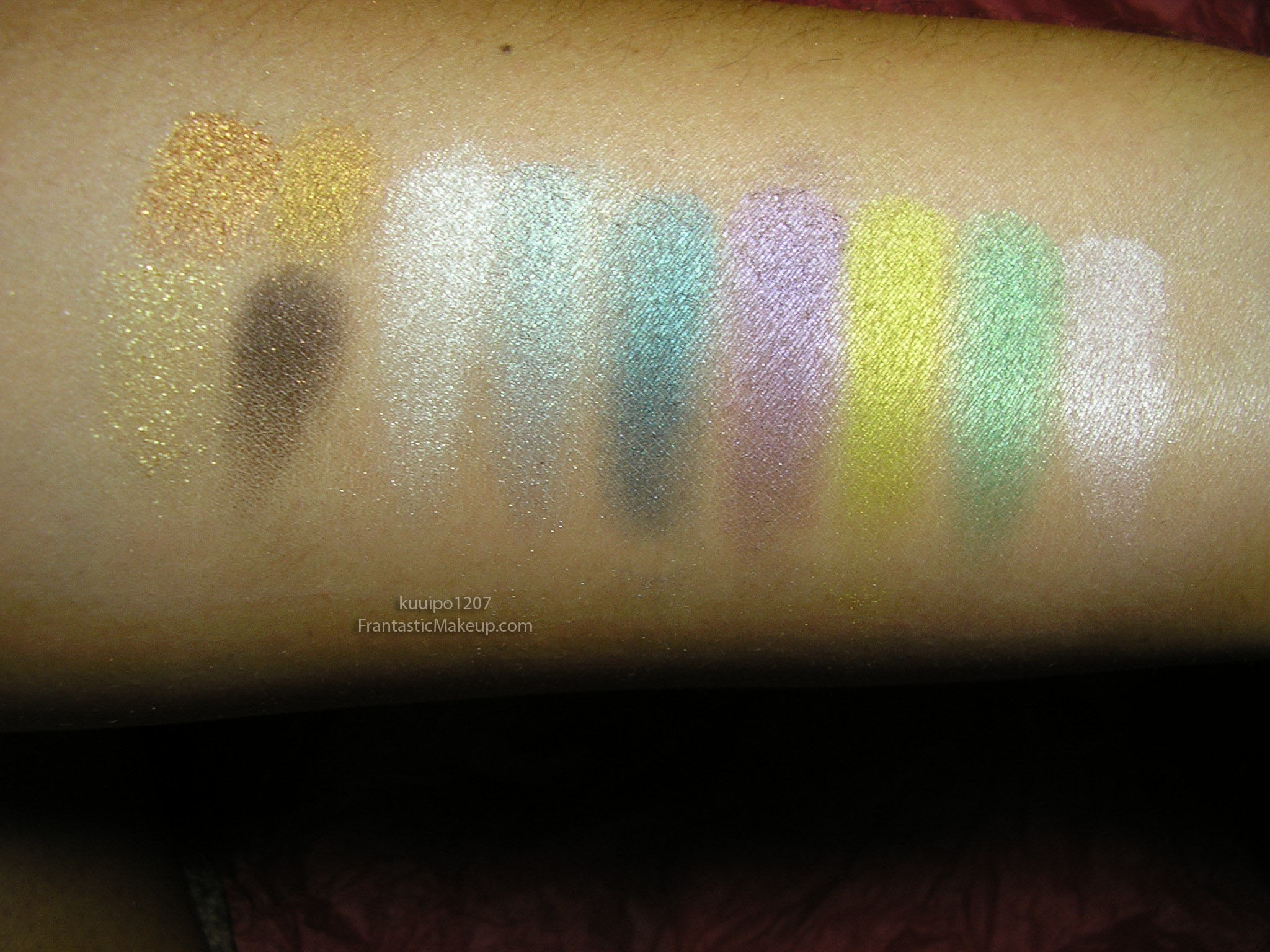 MAC Cosmetics Love That Look Swatches