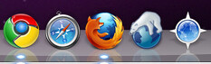 Browsers currently on my computer