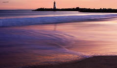 Lighthouse at Sunset (raineys) Tags: california sunset santacruz landscape searchthebest naturesfinest twinlakesbeach waltonlighthouse raineys impressedbeauty goldsealofquality scphoto vosplusbellesphotos