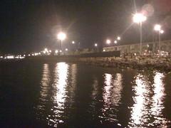 Huelva de noche