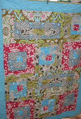 Cherry Blossom (One ShaBby ChiCk) Tags: lotus belle quilts patchwork amybutler