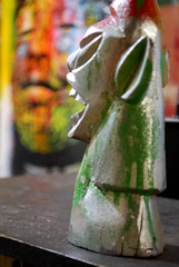 Studio (marciomfr) Tags: world brazil color painting photography arte rabiscos tag tags 420 canvas calligraphy 2009 pernambuco pintura indio nordeste tela tipography petrolina riscos xavante mfr carranca studiomfr marciofr