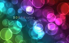 Wallpaper 02 (Longiee) Tags: colors photoshop rainbow graphics colorful long bokeh bubbles mai gradient wallpapers