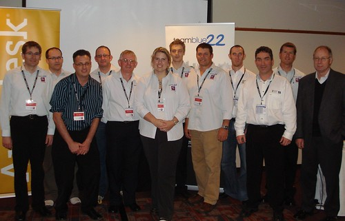Speakers at Civil 3D University NZ hosted by TeamBlue22