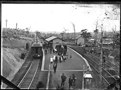 Cardiff Railway Station, Cardiff, NSW, [n.d.] (Cultural Collections, University of Newcastle) Tags: train cardiff rail railway australia railwaystation nsw lakemacquarie ralphsnowball snowballcollection ralphsnowballcollection asgn0699b29 cardiffrailwaystation newcastleregionnswhistorypictorialworks photographynewsouthwalesnewcastle cardiffnswhistory railroadsnewsouthwalestrains railroadstationsnewsouthwalescardiff