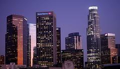 Los Angeles Skyline (jondoeforty1) Tags: california ca skyline buildings la los angeles laskyline