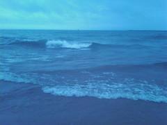 Beach. Not Ocean. Weird.
