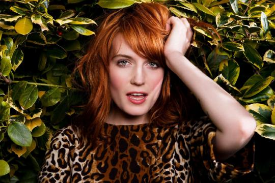 Florence and the Machine rose to fame thanks to the BBC. Photo: florenceandthemachine.net