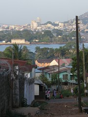 Across the River, Freetown (Karen Hlynsky) Tags: sierraleone westafrica freetown karenhlynsky