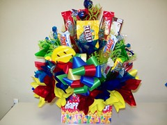 Birthday (Candy Bouquet) Tags: cake candy chocolate gift present bouquet
