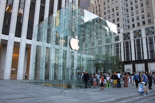 Apple store 5th Ave NYC by you.