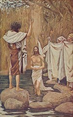 Baptism of Jesus by Tissot