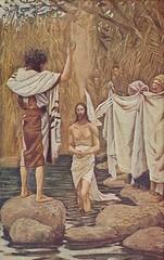 Baptism of Jesus by Tissot