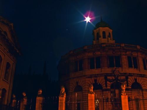 Sheldonian by night