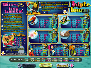 free Triple Toucan slot mini symbol