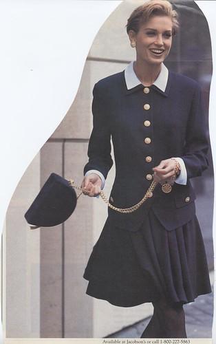 Ferre navy suit