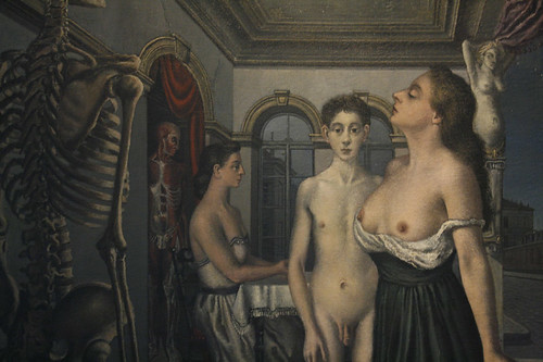 Le Musee Spitzner, by Paul Delvaux by pirano