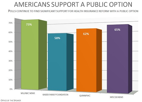 Americans Support A Public Option