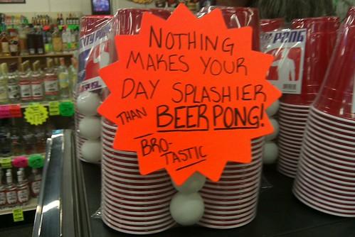 Bro-Tastic Beer Pong Kits