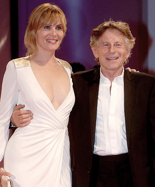 Emmanuelle+Seigner+and+Roman+Polanski