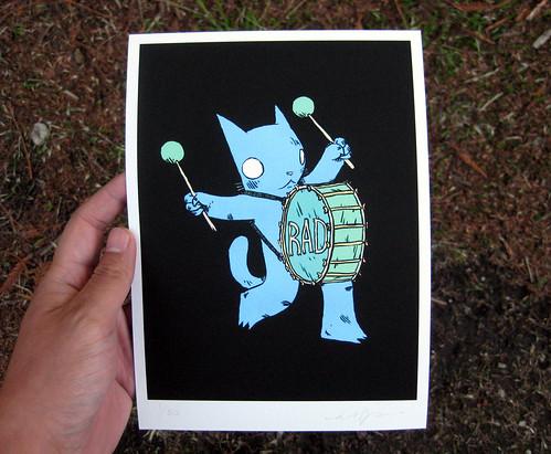 Rad Drummer Print 2