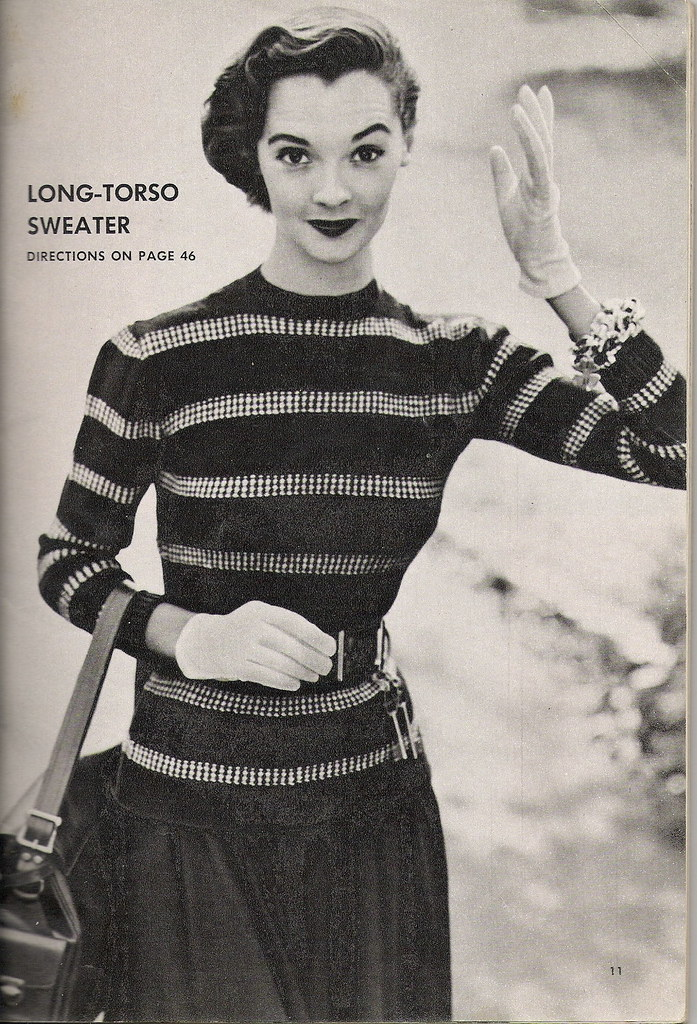 long-torso sweater