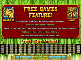 free Year of Fortune slot free spins