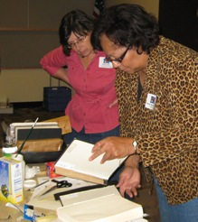Gwen Henderson Book Repair Workshop