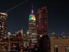Festive ESB (scottdunn) Tags: nyc newyorkcity newyork skyscraper manhattan empirestatebuilding gothamist urbanskyline notkap