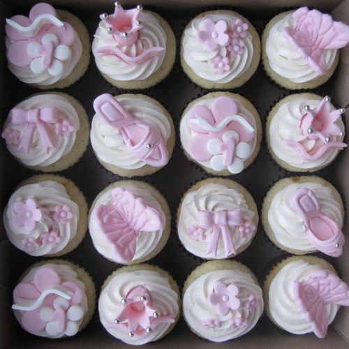 Princess Emma's Birthday Cupcakes