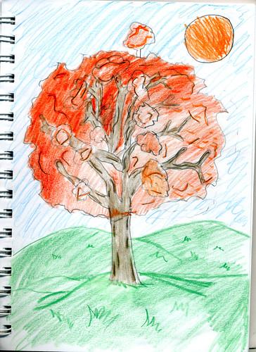 Oak Tree (by Aippy age 9)
