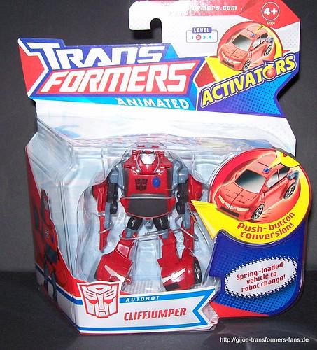 Cliffjumper Animated Activators  Transformers  001