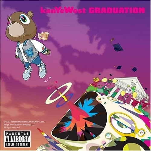 kanye west graduation album artwork. kanye west - graduation